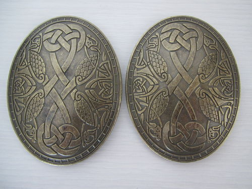 "Fibel-Set ""Viking"" Ovalfibeln"